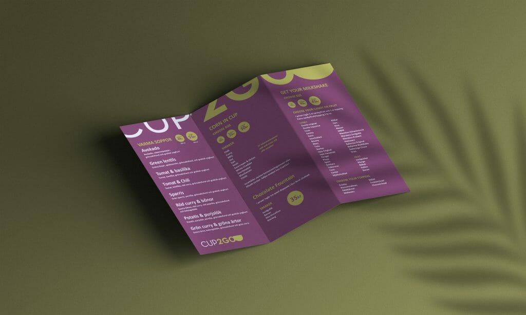 Design av broschyr