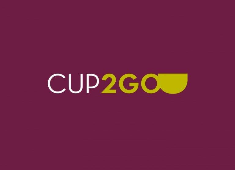 Cup2go stilren logotyp