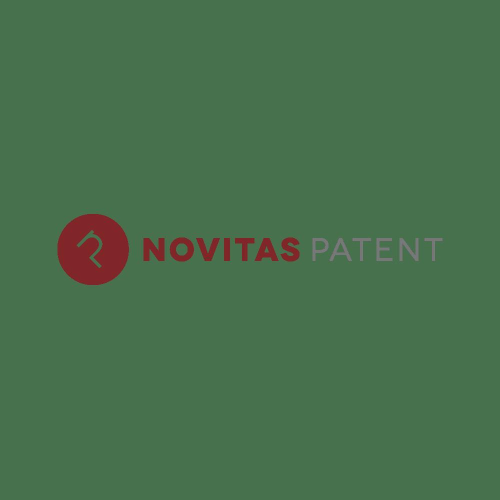 Novitas patent Logotypdesign