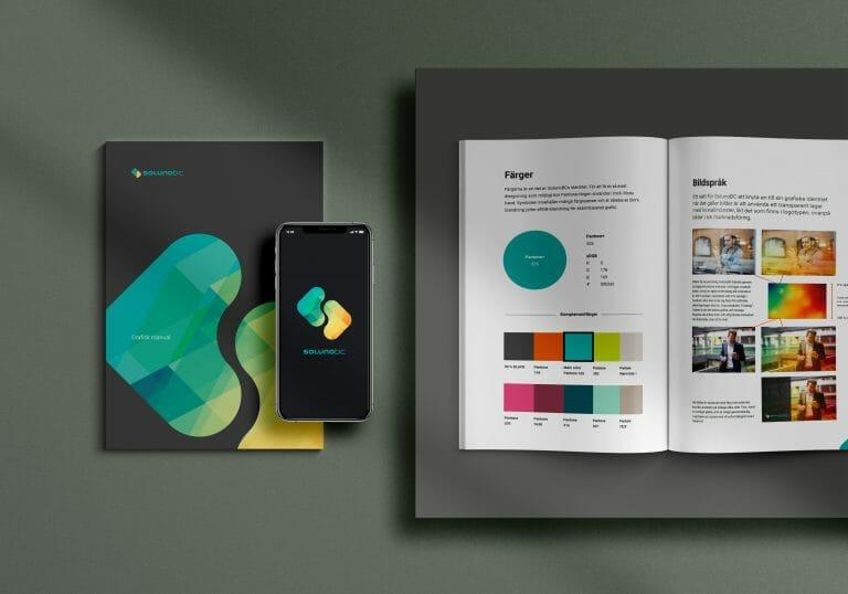 Logotypdesign och profilmanual