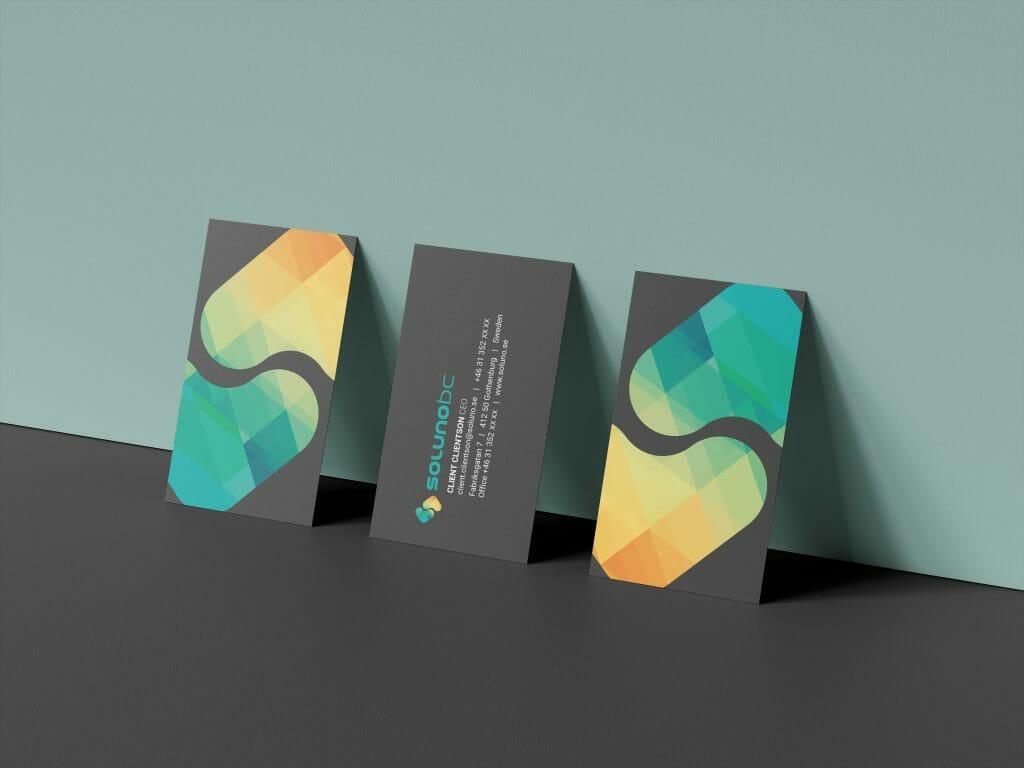 Design av visitkort