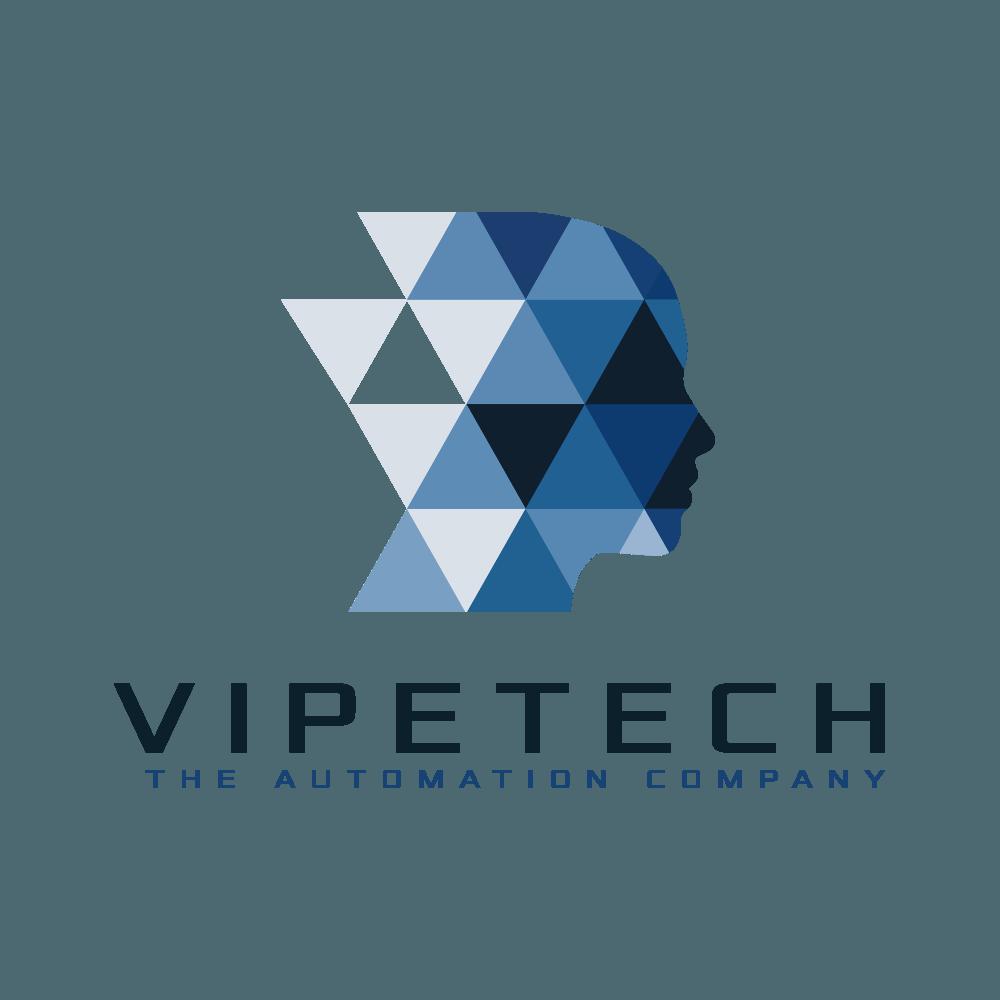 Vipetech Logotypdesign