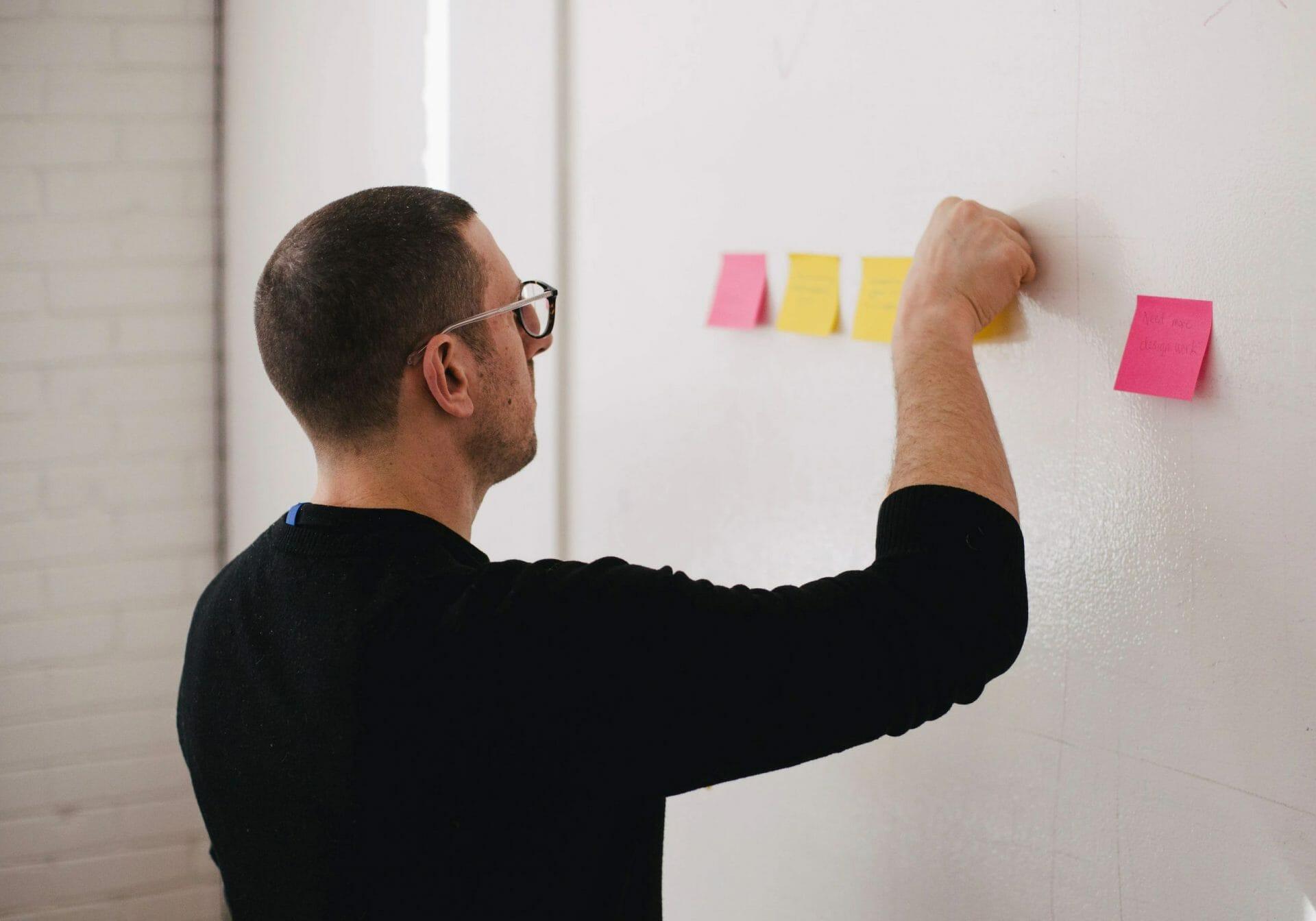 Brainstorming är viktigt när man ska designa en bra logo