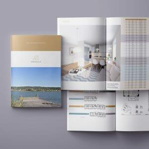 Design av broschyrer och kataloger
