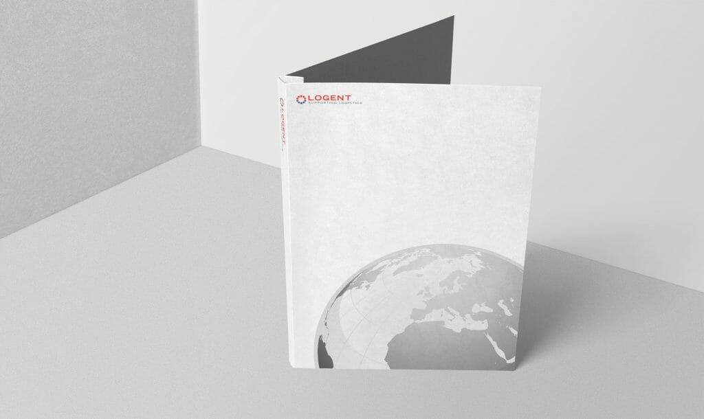 Design av dokumentfolder