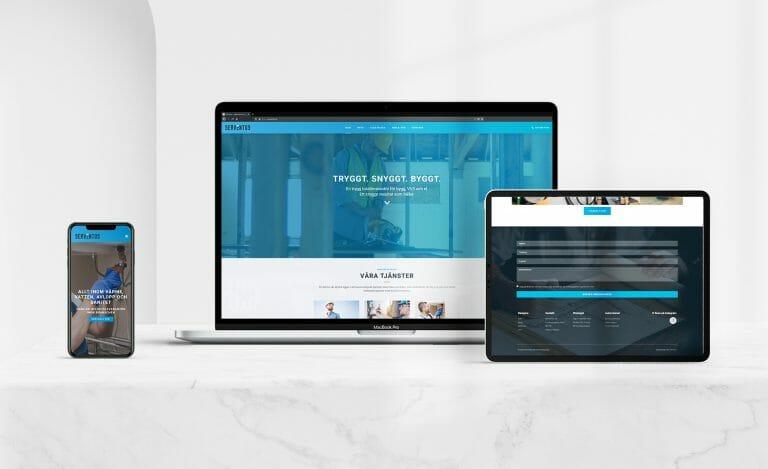 beställa hemsida till företaget