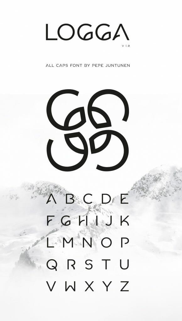 Logga Font